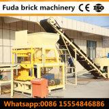 Ziegelsteine der Full Auto-Lehm-Block-Formteil-Maschinen-4PCS pro Schleife
