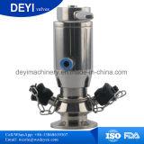 Soupape sanitaire de robinet témoin d'Aspetic SS304 SS316L d'acier inoxydable