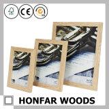 Прессформа рамки фотоего изображения Brown украшения студии фотоего деревянная