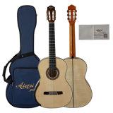 Guitarra clássica figurada tipo de Smallman do corpo do bordo de Aiersi