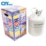 tipo portable cilindro de la presión inferior 30L del globo del helio del partido
