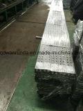 Unistrut hecha por la hoja de acero del HDG con los extremos limpios y los extremos llanos (canal)