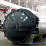 1500X7500mm ASME 오븐 (SN-CGF1575)를 치료하는 항공 우주 필드 탄소 섬유