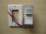 86 Tipo Wall Flush Mount PIR Sensor de movimento Switch