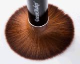 Щетка Kabuki одиночного синтетического Ferrule черноты волос Brown косметическая