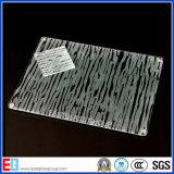 Glace en verre/givrée repérée par acide clair/a teinté la glace repérée par acide (AD49)