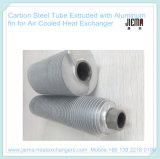 Tubo de aleta de aluminio extrusionado de cobre para calefacción, refrigeración y secado
