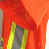 炎-反射テープが付いている抑制蛍光帯電防止Workwear