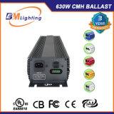 Double ballast électronique terminé de 1000 HP de watt de la culture hydroponique 630W CMH avec l'UL indiquée