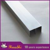 Perfiles de aluminio del ajuste del azulejo de Poblish de la dimensión de una variable durable del metal E