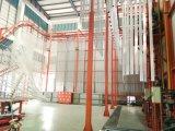 Superficie anodizada perfiles de la ventana de aluminio del marco de la marca de fábrica de Weiye