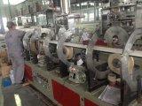 Telha de Mármore Artificial da Tira do PVC Extrusão Plástica do Parafuso do Gêmeo da Máquina