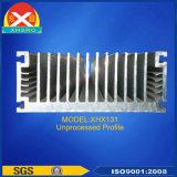 高い発電の空気によって冷却される工場によってカスタマイズされるアルミニウムプロフィール脱熱器