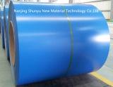 el color azul del espesor de 0.13-1.2m m cubrió la bobina de acero galvanizada para las hojas de la azotea de Aluzinc