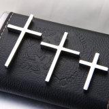 شعبيّة [ستينلسّ ستيل] يسوع مدلّاة فضة صليب مدلّاة لأنّ رجال