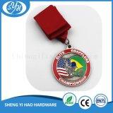 Medalla corriente del metal del maratón de la aleación del cinc