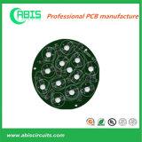 알루미늄 PCB, MCPCB, 둥근 PCB, LED PCB 의 알루미늄 기본적인 녹색 땜납