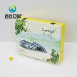 Farben-Papierdrucken-Kasten mit weiche Noten-Film-Laminierung für Tee