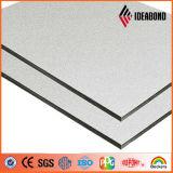 Rivestimento di alluminio d'argento di Ideabond 3mm per la decorazione interna (AE-32F)