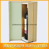 Doos van de Gift van het Glas van de wijn de In het groot Vouwende