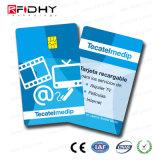 Alto cifrado RFID MIFARE elegante más tarjeta de X 2K