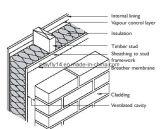 Membrana impermeable del respiradero del revestimiento de la pared del alto polímero de Playfly (F-100)