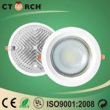 Buona dissipazione di calore di alluminio del dispositivo di Ctorch LED giù 9W chiaro