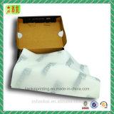 Papel de tejido de embalaje barato con insignia de la compañía