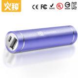 Batería de la potencia del shell de la columna para el color modificado para requisitos particulares potencia del teléfono móvil