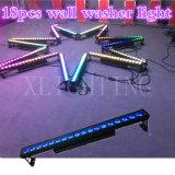 18*12W RGBW棒LED LED屋外の壁ライト壁の洗濯機のライト及び照明