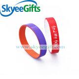 Bracelete de borracha do silicone de 2017 presentes relativos à promoção