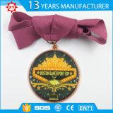 Médailles universelles d'émail de logo fait sur commande d'or avec l'enduit époxy