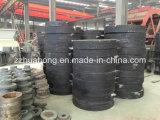 Chine Broyeur de moule mouillée / Moulin à l'or / Machine à visser à double roue