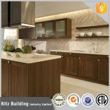 Module de cuisine de Chaud-Vente de PVC de meubles de cuisine de couleur de café