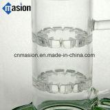 Conjunto que fuma del agua de la cristalería de cristal del tubo que fuma (AY004)