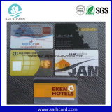 Cr80 Cmykの印刷プラスチック透過PVCカード