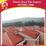 O estilo o mais novo de Europa da telha de telhado do PVC do ASA