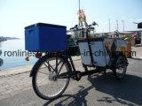 250With350With500W elettrici o Pedal bicicletta del carico delle tre rotelle/carico Trike/triciclo del carico/triciclo del rullo gelato/bici di consegna del rullo della bici/gelato del carico