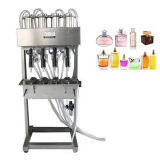 Semi-automatique 4-heads Vacuum Parfum Filler Liquid Machine