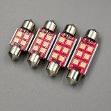 L'intérieur des ampoules DEL de la lampe de relevé de Viano DEL T10W5w 12V allume la lumière automatique 36 de joncteur réseau de lampe du feston 41mm C10W Sv8.5 Canbus de C5w 39 41mm