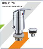 Robinet à levier unique de bidet de zinc de Bd2110W 40mm à sud-américain