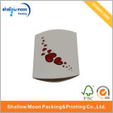 Kundenspezifischer Packpapier-Kissen-verpackender Papierkasten mit Aufkleber (QYCI15202)