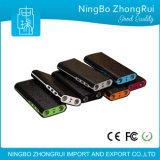 2016 batería de la potencia del USB 20000mAh 3 con la luz que contellea de memoria Flash
