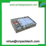 Het Vakje van de Verpakking van de Wimper van het Vakje van de Gift van het document met het Venster van pvc