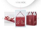 Grand Storage&#160 compressible ; Cas en bois de module de vin de capacité
