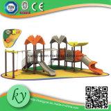 La cour de jeu extérieure, gosses cour de jeu, cour de jeu joue (KY-10223)