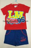 conjunto 2PCS de vestir de los niños del algodón de Pixar