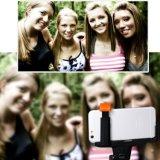 Ausdehnbarer Selfie Stock mit eingebautem Bluetooth Station-Blendenverschluß