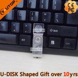Rotating Crystal USB Pen Drive en cadeau promotionnel (YT-3270-06)