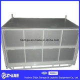 Casella di memoria accatastabile del magazzino di vendita diretta della fabbrica e pieghevole d'acciaio di alta qualità per il giro d'affari di logistica